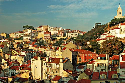 Lissabon Portugalin viehättävä kaupunki matkakohde source:http://www.flickr.com/photos/jonask/319963460/